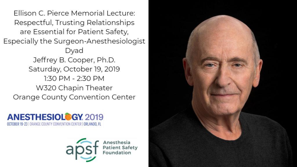 Jeffrey B. Cooper, PhD. Lecture