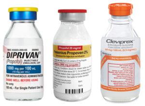 Diprivan, Propoven, Cleviprex