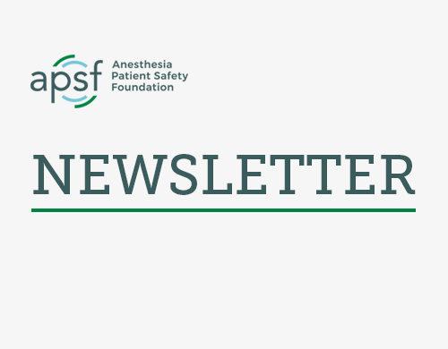 APSF Newsletter - Japanese
