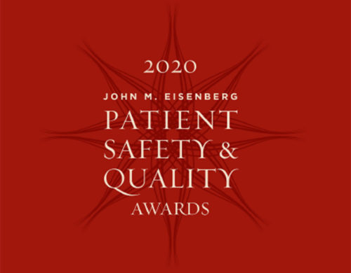 Patient Safety & Quality Award
