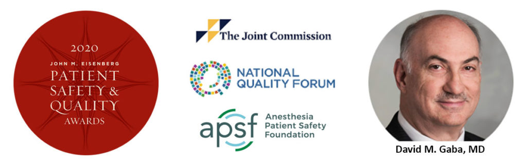 Patient Safety & Quality Award Banner
