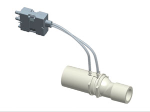 GE Healthcare Off-set flow sensor