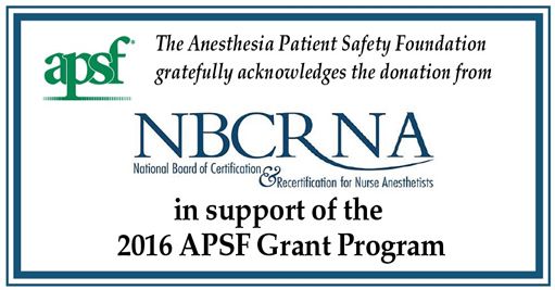 NBCRNA acknowledgment