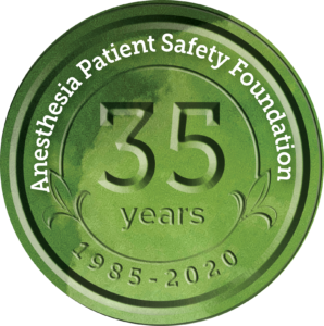 Anesthesia Patient Safety Foundation-35年