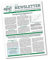 APSF Newsletter - October 2021