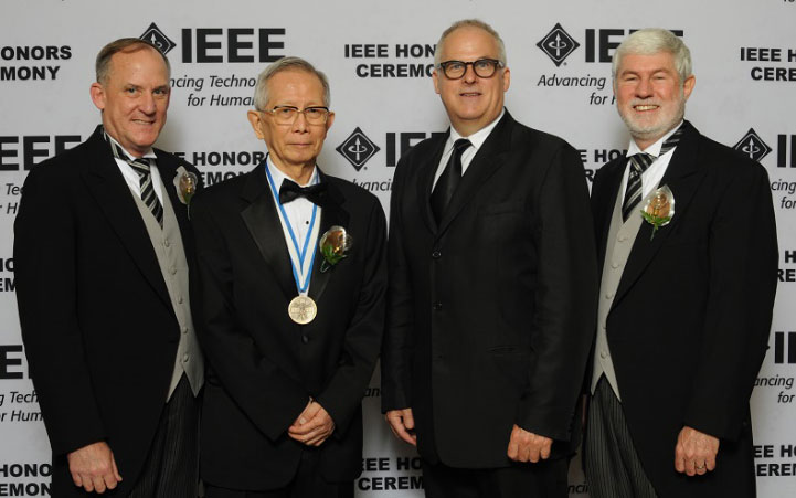 Figure 1. At the 2015 IEEE Honors Ceremony